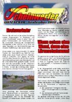 Scheinwerfer 2013/09