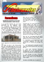 Scheinwerfer 2014/10