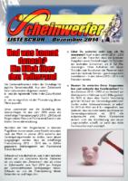 Scheinwerfer 2014/12