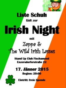 Plakat Irish Night