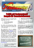 Scheinwerfer 2015/01 II