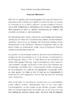 Stadtbote 2015/05: Subkultur versus Stammtischromantik