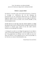 Stadtbote 2013/11: Volksheim – genug der Worte!