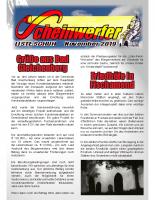 Scheinwerfer 2019/11